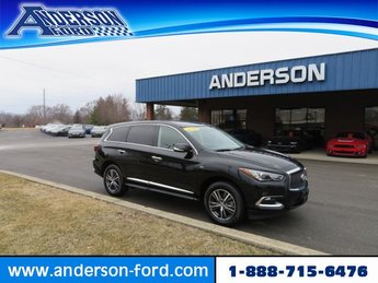 2018 Black Obsidian Infiniti QX60 AWD Automatic 4 Door Gas V6 3.5L Engine AWD