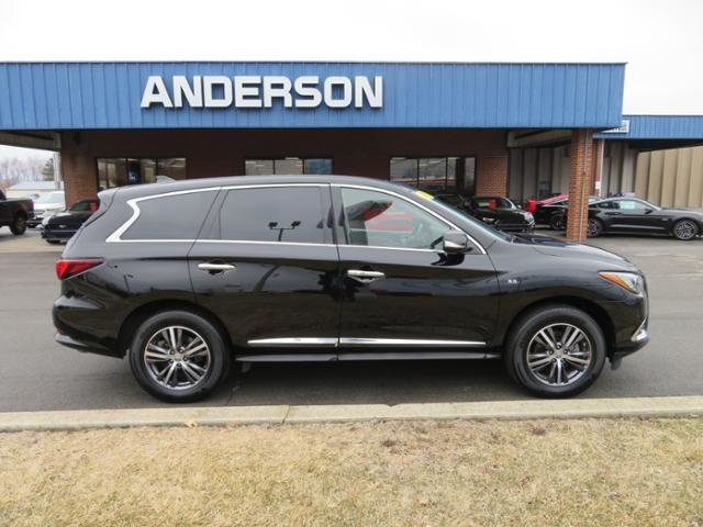 2018 Black Obsidian Infiniti QX60 AWD Gas V6 3.5L Engine 4 Door Automatic SUV