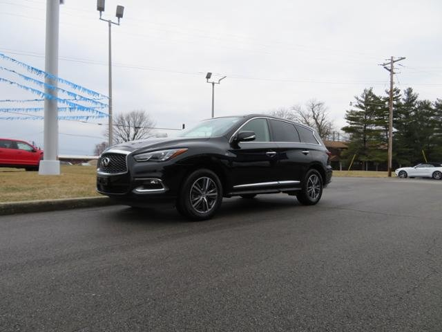 2018 Black Obsidian Infiniti QX60 AWD SUV Automatic Gas V6 3.5L Engine AWD