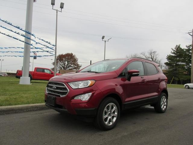 2018 Ruby Red Metallic Tinted Clearcoat Ford EcoSport SE 4WD SUV 4 Door Gas I4 2.0L Engine 4X4 Automatic