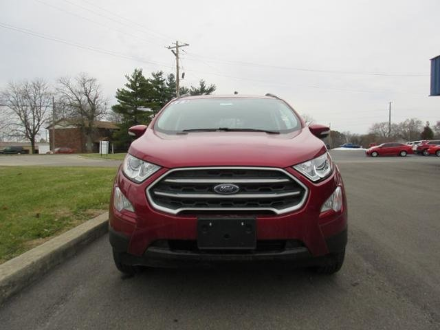 2018 Ruby Red Metallic Tinted Clearcoat Ford EcoSport SE SUV 4X4 Automatic Gas I4 2.0L Engine