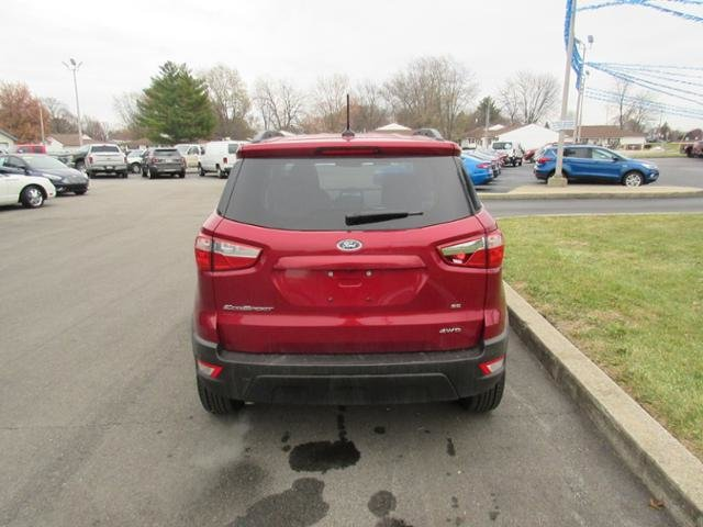 2018 Ford EcoSport SE SUV 4X4 Gas I4 2.0L Engine