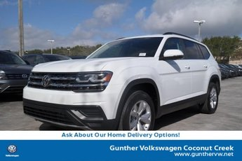 2020 Volkswagen Atlas 2.0T S SUV Automatic Intercooled Turbo Regular Unleaded I-4 2.0 L/121 Engine