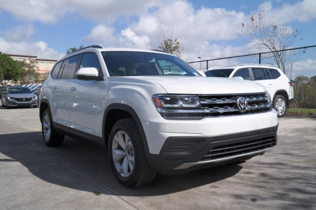 2020 Pure White Volkswagen Atlas 2.0T S FWD SUV 4 Door Automatic Intercooled Turbo Regular Unleaded I-4 2.0 L/121 Engine