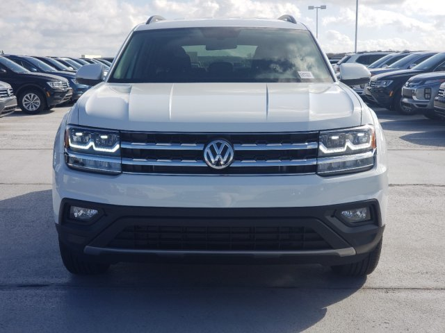 2020 Pure White Volkswagen Atlas 2.0T SE FWD Automatic Intercooled Turbo Regular Unleaded I-4 2.0 L/121 Engine 4 Door SUV