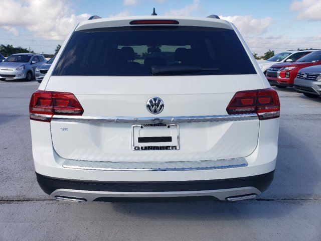 2020 Pure White Volkswagen Atlas 2.0T SE FWD Intercooled Turbo Regular Unleaded I-4 2.0 L/121 Engine SUV
