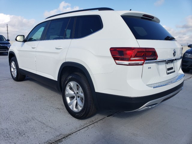 2020 Pure White Volkswagen Atlas 2.0T SE Automatic 4 Door Intercooled Turbo Regular Unleaded I-4 2.0 L/121 Engine