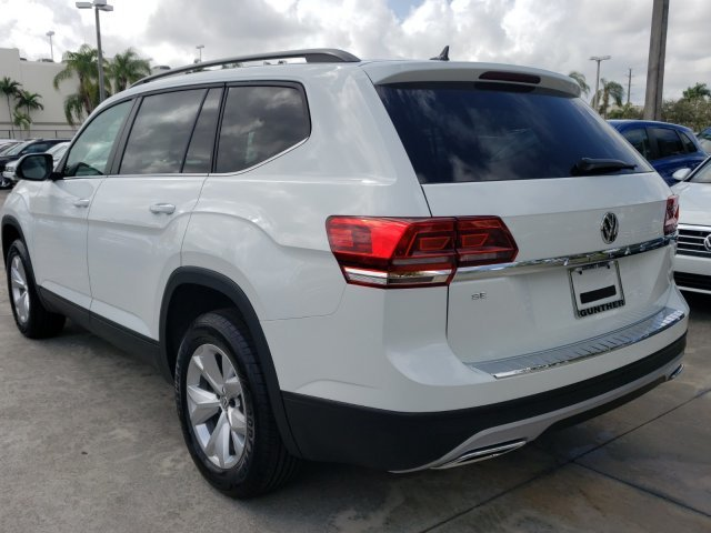 2020 Pure White Volkswagen Atlas 2.0T SE 4 Door FWD Intercooled Turbo Regular Unleaded I-4 2.0 L/121 Engine Automatic