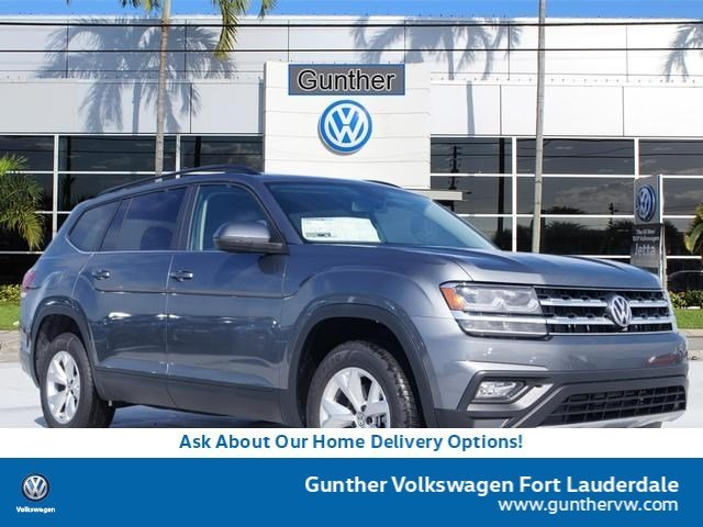 2020 Volkswagen Atlas 2.0T SE FWD Intercooled Turbo Regular Unleaded I-4 2.0 L/121 Engine Automatic SUV