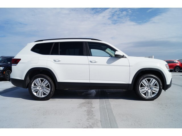 2020 Pure White Volkswagen Atlas 2.0T SE w/Technology Automatic FWD Intercooled Turbo Regular Unleaded I-4 2.0 L/121 Engine SUV