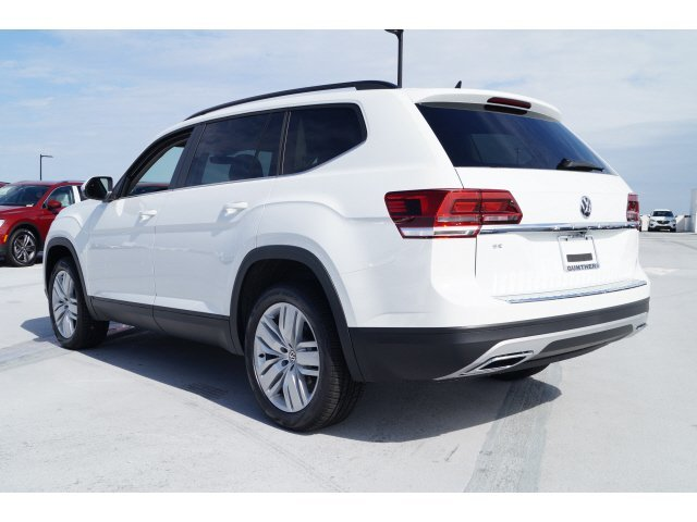 2020 Pure White Volkswagen Atlas 2.0T SE w/Technology 4 Door SUV FWD Automatic Intercooled Turbo Regular Unleaded I-4 2.0 L/121 Engine