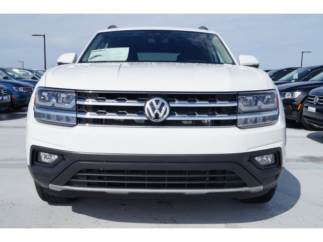 2020 Pure White Volkswagen Atlas 2.0T SE w/Technology 4 Door FWD SUV Automatic