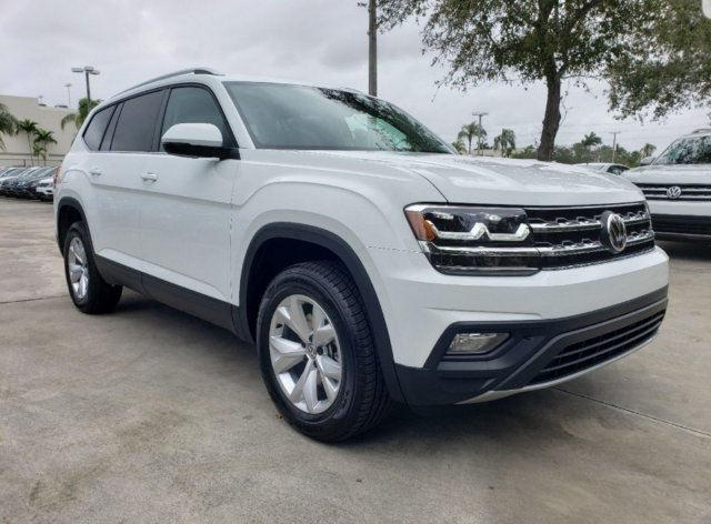2020 Volkswagen Atlas 2.0T SE w/Technology Automatic Intercooled Turbo Regular Unleaded I-4 2.0 L/121 Engine FWD 4 Door SUV