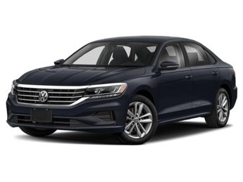 2020 Pure White Volkswagen Passat 2.0T S FWD Intercooled Turbo Regular Unleaded I-4 2.0 L/121 Engine 4 Door Automatic Sedan