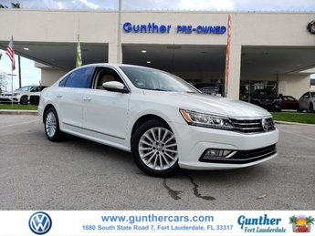 2016 Volkswagen Passat 1.8T SE 4 Door Intercooled Turbo Regular Unleaded I-4 1.8 L/110 Engine Automatic Sedan FWD