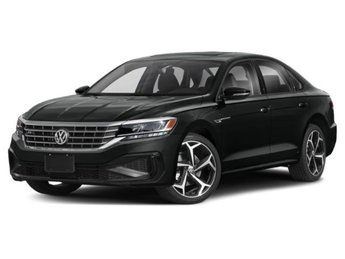 2020 Deep Black Pearl Volkswagen Passat 2.0T R-Line Automatic Sedan 4 Door