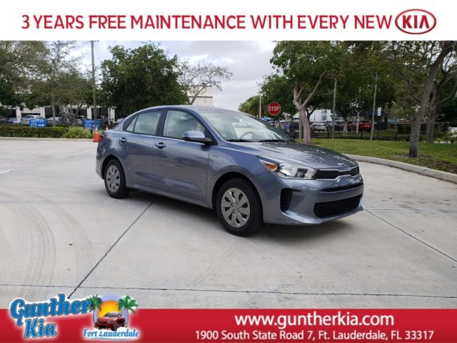 2020 PHANTOM GREY Kia Rio LX FWD Automatic (CVT) Regular Unleaded I-4 1.6 L/97 Engine