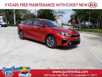 2020 Currant Red Kia Forte LXS FWD 4 Door Sedan