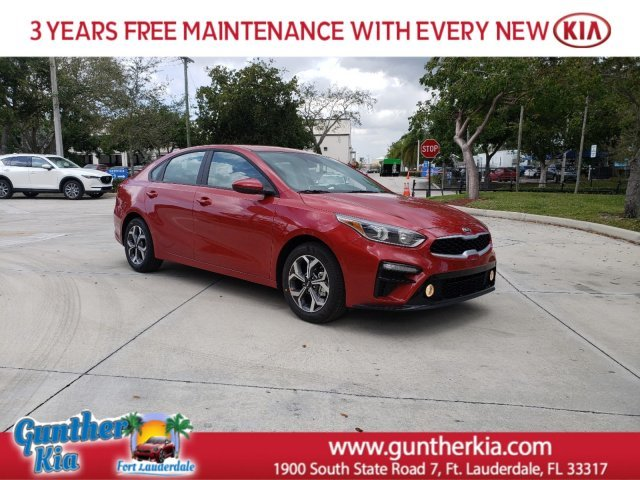 2020 Currant Red Kia Forte LXS Regular Unleaded I-4 2.0 L/122 Engine Automatic (CVT) Sedan