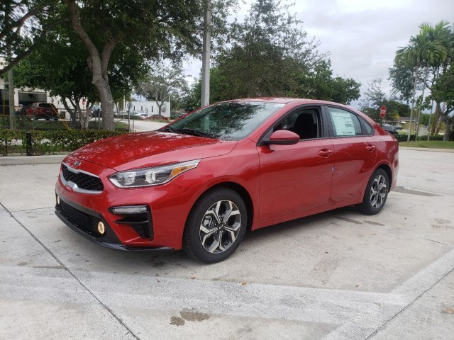 2020 Currant Red Kia Forte LXS Regular Unleaded I-4 2.0 L/122 Engine Sedan 4 Door Automatic