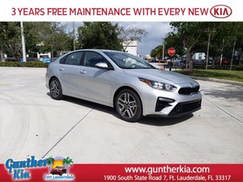 2020 Silky Silver Kia Forte EX 4 Door Regular Unleaded I-4 2.0 L/122 Engine Automatic FWD Sedan