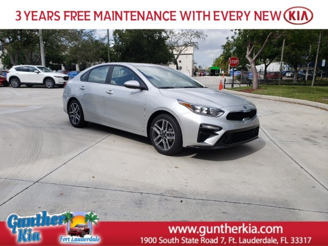 2020 Silky Silver Kia Forte EX Automatic (CVT) FWD Regular Unleaded I-4 2.0 L/122 Engine 4 Door Sedan