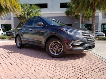 2017 Platinum Graphite Hyundai Santa Fe Sport 2.4L FWD Automatic 4 Door SUV Regular Unleaded I-4 2.4 L/144 Engine