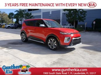 2020 Inferno Red Kia Soul X-Line Automatic (CVT) FWD 4 Door