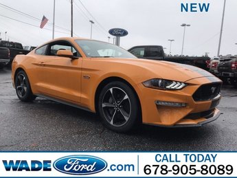 2019 Orange Fury Metallic Tri-Coat Ford Mustang GT Premium Unleaded V-8 5.0 L/302 Engine Coupe Manual