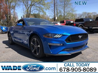 2019 Velocity Blue Metallic Ford Mustang GT Automatic RWD Coupe 2 Door