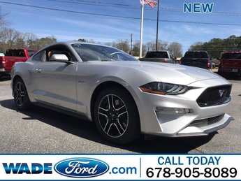 2019 Ingot Silver Metallic Ford Mustang GT Automatic RWD 2 Door Premium Unleaded V-8 5.0 L/302 Engine