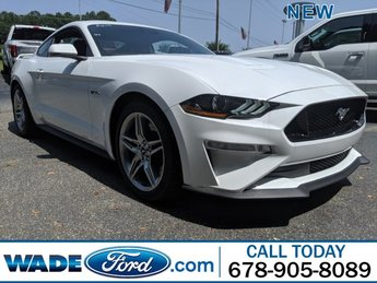 2019 Oxford White Ford Mustang GT Premium Automatic 2 Door RWD Premium Unleaded V-8 5.0 L/302 Engine