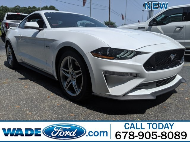 2019 Oxford White Ford Mustang GT Premium RWD Automatic 2 Door