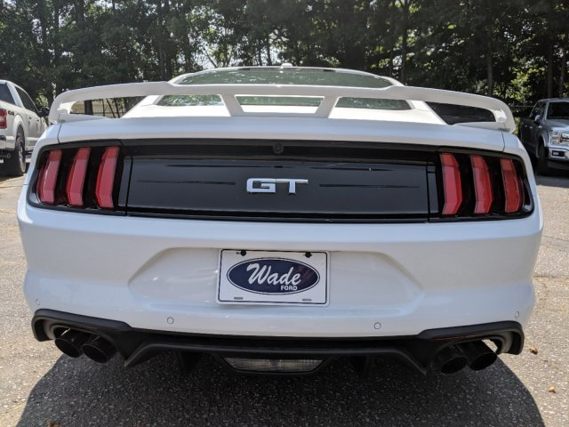 2019 Oxford White Ford Mustang GT Premium Automatic RWD 2 Door