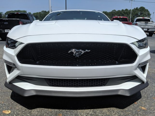 2019 Oxford White Ford Mustang GT Premium 2 Door RWD Coupe Automatic Premium Unleaded V-8 5.0 L/302 Engine