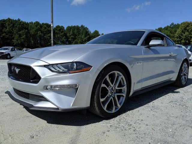2019 Ingot Silver Metallic Ford Mustang GT Premium Premium Unleaded V-8 5.0 L/302 Engine Automatic RWD