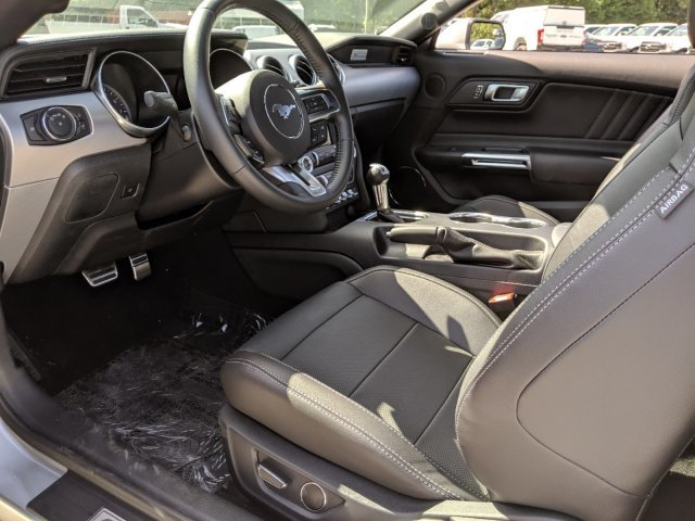 2019 Ingot Silver Metallic Ford Mustang GT Premium Coupe RWD Premium Unleaded V-8 5.0 L/302 Engine Automatic
