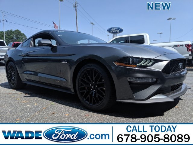 2019 Magnetic Metallic Ford Mustang GT Coupe 2 Door Automatic