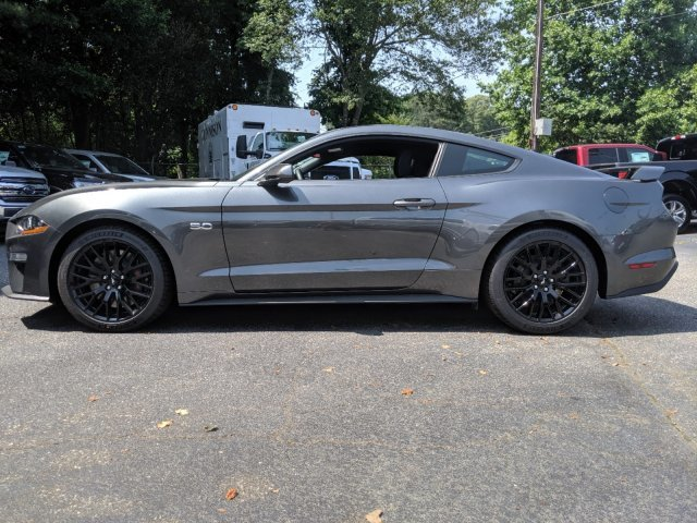 2019 Magnetic Metallic Ford Mustang GT Premium Unleaded V-8 5.0 L/302 Engine Coupe Automatic