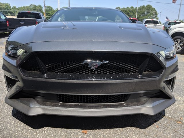 2019 Magnetic Metallic Ford Mustang GT Coupe 2 Door Automatic Premium Unleaded V-8 5.0 L/302 Engine