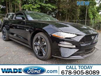 2019 Shadow Black Ford Mustang GT Automatic Premium Unleaded V-8 5.0 L/302 Engine Coupe RWD 2 Door