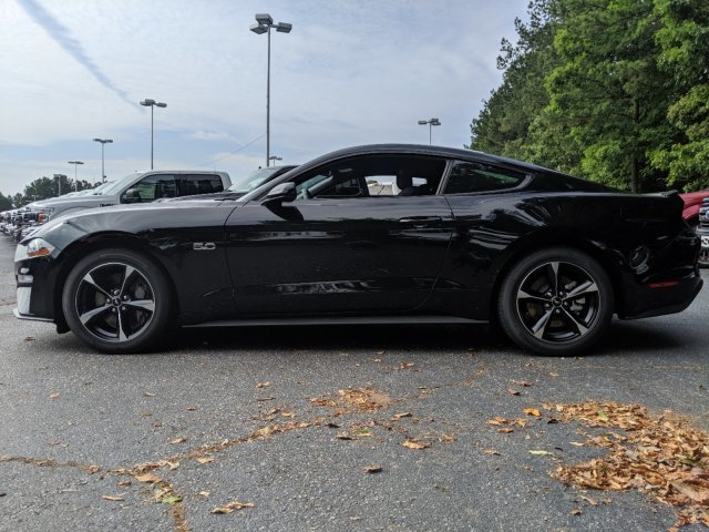 2019 Shadow Black Ford Mustang GT 2 Door RWD Coupe Automatic