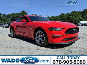 2019 Race Red Ford Mustang GT Premium Automatic Coupe RWD 2 Door