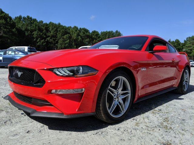 2019 Race Red Ford Mustang GT Premium Coupe 2 Door Automatic