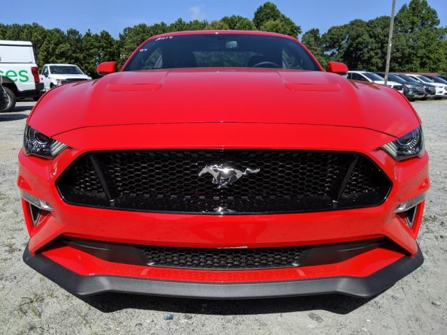 2019 Race Red Ford Mustang GT Premium 2 Door Premium Unleaded V-8 5.0 L/302 Engine Coupe RWD Automatic