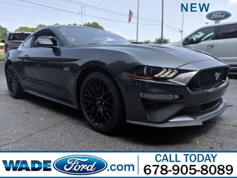 2019 Magnetic Metallic Ford Mustang GT Premium 2 Door RWD Automatic Coupe