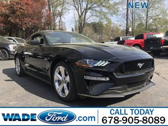 2019 Shadow Black Ford Mustang GT Premium Coupe Automatic RWD Premium Unleaded V-8 5.0 L/302 Engine 2 Door