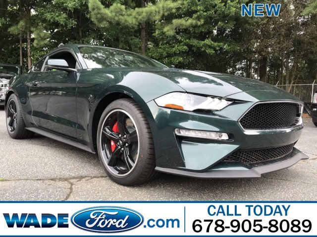 2019 Ford Mustang Bullitt Premium Unleaded V-8 5.0 L/302 Engine RWD Manual 2 Door