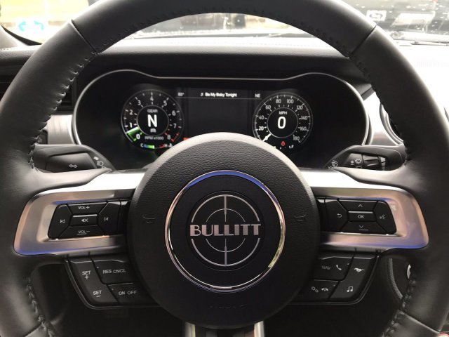 2019 Ford Mustang Bullitt Premium Unleaded V-8 5.0 L/302 Engine Coupe RWD