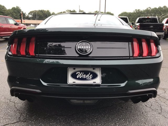 2019 Dark Highland Green Metallic Ford Mustang Bullitt RWD 2 Door Manual Premium Unleaded V-8 5.0 L/302 Engine Coupe